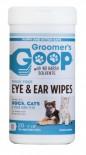Специальные чистящие салфетки для глаз и ушей GROOMER`S GOOP  . (20шт/1 упаковка) с Алое Вера и витам.Е